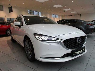gebraucht Mazda 6 6Sport Combi CD184 Revolution Top Aut. Kombi / Family Van,