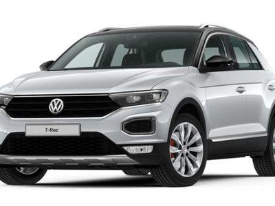 gebraucht VW T-Roc 2.0TSI DSG 4M Sport LED Sportp AID Nav SHZ