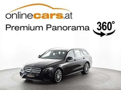 brugt Mercedes E220 E-KlasseT Aut. AMG RADAR LED LEDER OPE... Kombi / Family Van,