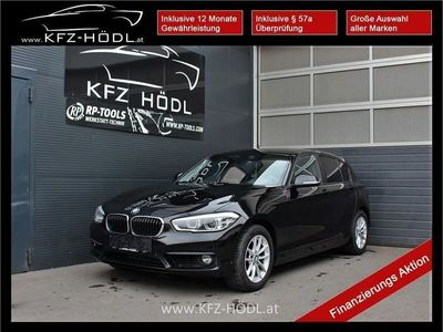 gebraucht BMW 118 1er-Reihe d Advantage Aut. Limousine