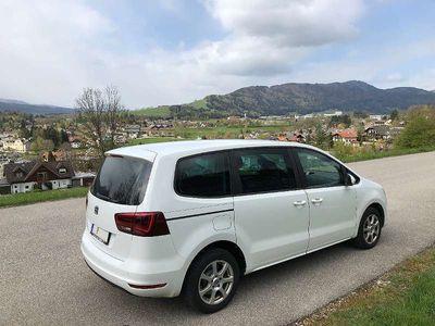 gebraucht Seat Alhambra Facelift Business 2.0 TDI mit großem Bildschirm Kombi / Family Van