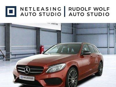 gebraucht Mercedes C400 T 4M AMG+Nightp+Comand+Pano+Sportabgas+ILS