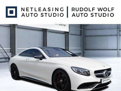 used Mercedes S63 AMG AMG 4M Coupé Drivers+Sound+20''+Carbon+Magi LED