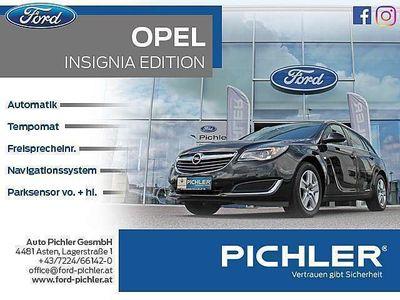 gebraucht Opel Insignia ST 1,6 CDTI Ecotec Ed. Aut. NAVI/TEMP./PDC