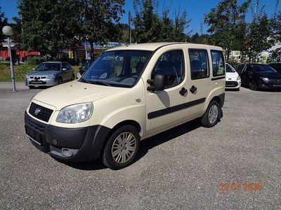 gebraucht Fiat Doblò 1,4 Active * Klima * Euro 4 * 102.000 Km