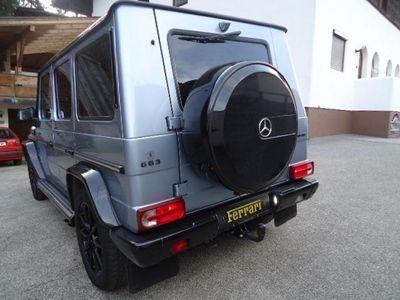 gebraucht Mercedes G55 AMG AMG SONDERMODELL-BLAU SCHWARZ METALIK