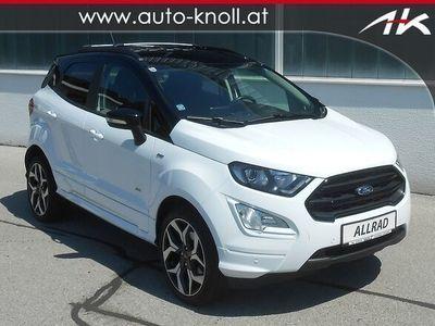gebraucht Ford Ecosport 1.5l EcoBlue TDCi AWD ST-Line SUV / Geländewagen