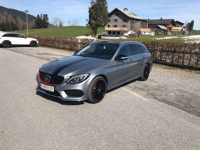 gebraucht Mercedes C220 T BlueTEC AMG Line