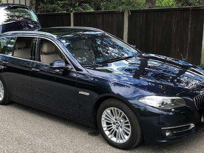 gebraucht BMW 520 5er-Reiheluxury line f11 xdrive Automatik 184 PS Kombi / Family Van