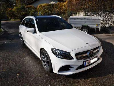 gebraucht Mercedes C200 T Aut. AMG Line High-End Assi.-Paket Facelift
