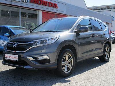 gebraucht Honda CR-V 1,6i-DTEC Lifestyle 4WD Aut. / Erstbesitz / Alcantara / Anhängerkupplung