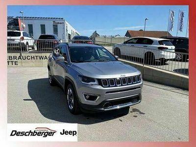 gebraucht Jeep Compass 2,0 MultiJet AWD 6MT 140 Limited SUV / Geländewagen