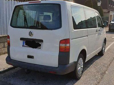 gebraucht VW T5 2.5 TDI 4motion Alrad Kombi / Family Van