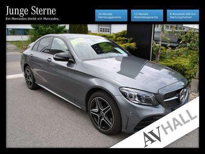 gebraucht Mercedes C220 d 4MATIC Automatik LED Scheinw./Navigationss