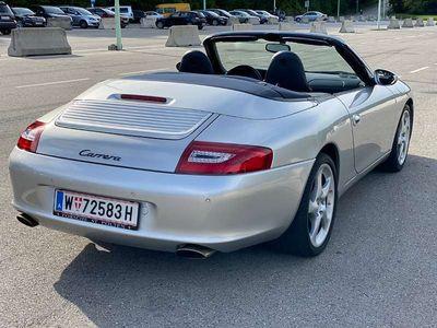 gebraucht Porsche 911 Cabrio, Klappenauspuff, Top, 80Tkm Cabrio / Roadster