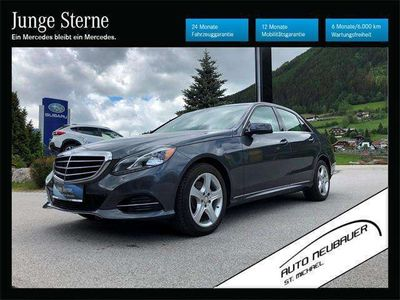 gebraucht Mercedes E350 E-KlasseBLUETEC 4 MATIC Limousine