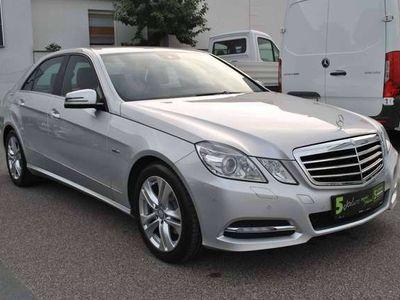 gebraucht Mercedes E200 Elegance BlueEfficiency CDI Aut.