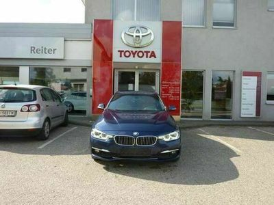 gebraucht BMW 316 d Luxury Line *LED*NAVI*LEDER*SHZ*