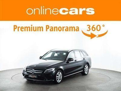 gebraucht Mercedes C180 C-Klassed T Avantgarde Aut. LED NAVI R-KAMERA MEG... Kombi / Family Van