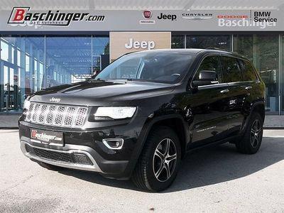 gebraucht Jeep Grand Cherokee 3,0 V6 CRD Limited 3500kg Anhängevorrichtung