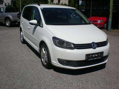 gebraucht VW Touran Karat 1,4 TGI BlueMotion Eco Fuel Kombi / Family Van