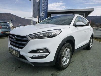 gebraucht Hyundai Tucson 2,0 CRDI 4WD Go SUV / Geländewagen