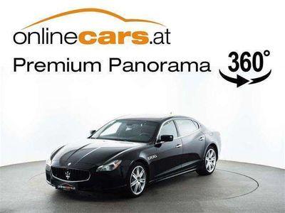 gebraucht Maserati Quattroporte 3,0 Aut. LEDER RFK XENON NAVI WENI... Limousine