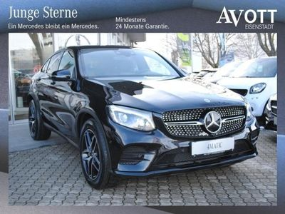 gebraucht Mercedes GLC350 d Coupe 4Matic AMG Line, Night Paket, Navi
