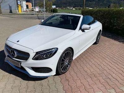 gebraucht Mercedes C220 d Cabrio Aut. AMG-Line, Navi, Kamera