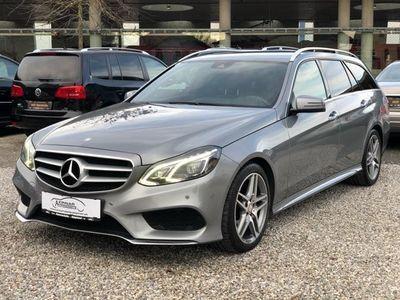 gebraucht Mercedes E300 CDI BlueTEC Avantgarde Aut. AMG SPORTPAKET