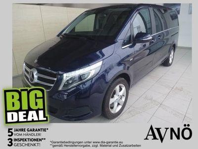 gebraucht Mercedes V220 V-Klassed 4MATIC lang Avantgarde Aut. Allrad Coman Kombi / Family Van,