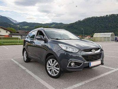 gebraucht Hyundai ix35 iX35CRDi 4WD Style SUV / Geländewagen,