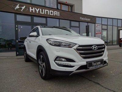 gebraucht Hyundai Tucson Platin Launch 2,0 CRDi 4WD AT 821l