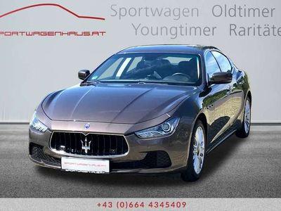 gebraucht Maserati Ghibli V6 Diesel, Toppausstattung, 19 Zoll Räder, Servicegepflegt! Limousine