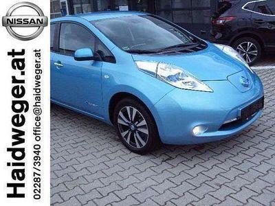 brugt Nissan Leaf (mit Batterie) Tekna 24 kWh Limousine,