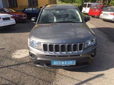 used Jeep Compass 2,2 CRD Limited 4WD Leder AHK SUV / Geländewagen,