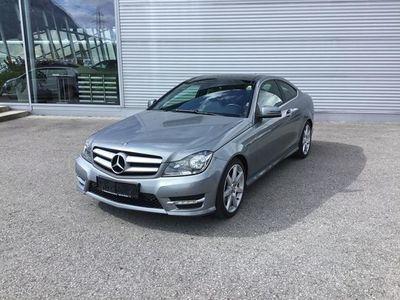 gebraucht Mercedes C350 C-KlasseBlueEfficiency Coupe Aut. Sportwagen / Coupé,