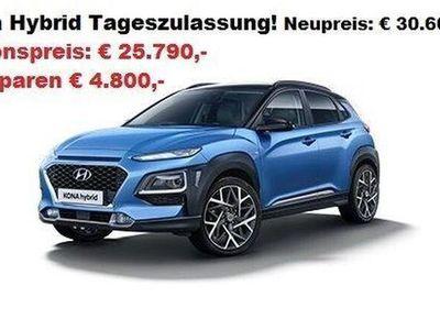 gebraucht Hyundai Kona 1,6 GDI Hybrid Level 3 Plus DCT