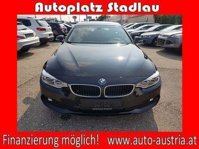 gebraucht BMW 420 Gran Coupé 4er-Reihe d xDrive Aut. LEDER STANDHEIZUNG ... Sportwagen / Coupé,