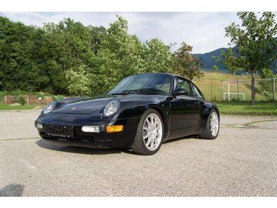 gebraucht Porsche 911 Carrera (993) 2 / Schalter / schwarz-schwarz