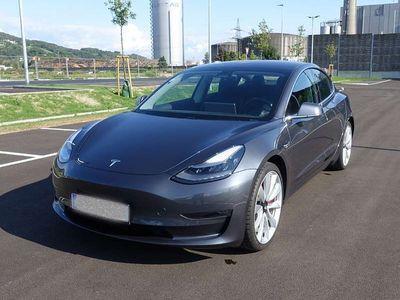 gebraucht Tesla Model 3 Performance LR AWD Limousine