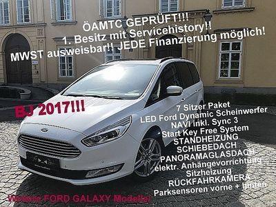 gebraucht Ford Galaxy 2,0 TDCi Titanium Panorama - Standh. - RÜCKFAHRK.