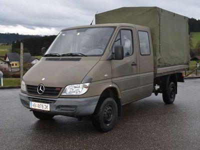 gebraucht Mercedes Sprinter 313 CDI 4X4 Pritsche