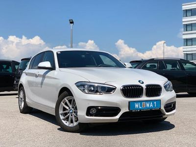 used BMW 118 1er-Reihe (F20) Sport Line Aut.