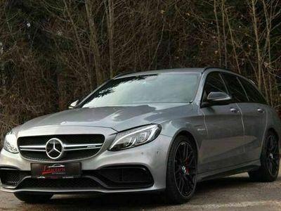 gebraucht Mercedes C63 AMG AMG S T-Modell*KEYLESS*PERFOR*NIGHT*VOLL*KLAPPEN