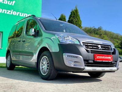 gebraucht Peugeot Partner Tepee Outdoor 1,6 HDi 120 S&S (7 Sitze) Kombi / Family Van,