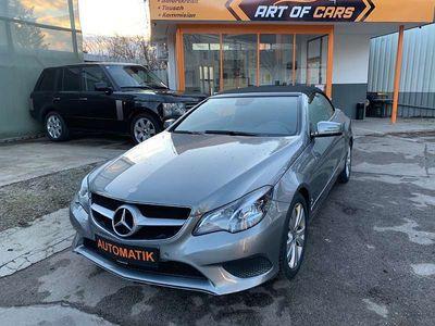 gebraucht Mercedes E200 E-KlasseAut. LED / LEDER / NAVI / 1.BESITZ Cabrio / Roadster