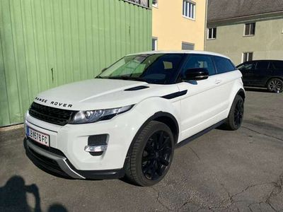 gebraucht Land Rover Range Rover evoque Dynamic 2,2 SD4 Aut. Sportwagen / Coupé