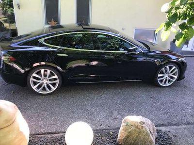 gebraucht Tesla Model S 100 D ALLRAD -- ALLE EXTRAS -- SD, 21 Zoll. CCS Limousine