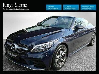 gebraucht Mercedes C200 Cabrio *AMG-Styling*Navi*Distronik*LED*Keyless*